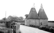 Monkton, Oast House c1960