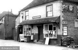Monkton, Post Office c.1955