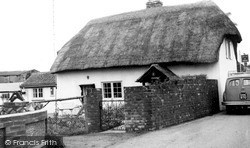 Monkton, Thatch Cottage c.1960