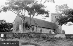 Monkton, The Church Of St Mary Magdalene c.1960