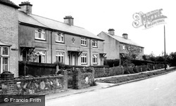 Monkton, The Council Houses c.1960