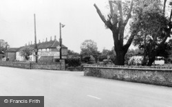 Monkton, The Walters Hall Caravan Site c.1960