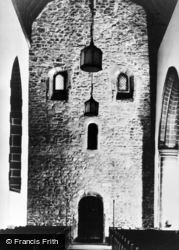 Monkwearmouth, St Peter's Church, The Saxon West Wall c.1920