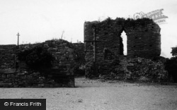 Monmouth, Castle Ruins 1896