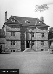 Monmouth, Great Castle House 1951
