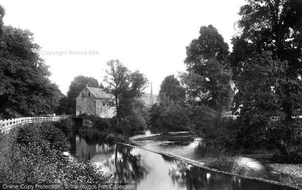 Monmouth,Mill On The Monnow 1893,Gwent