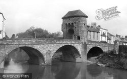 Monmouth, Monnow Bridge 1931