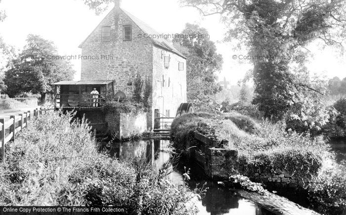 Monmouth,Monnow Mill 1914,Gwent