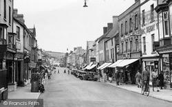 Monmouth, Monnow Street c.1955