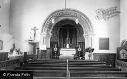 Monmouth, St Thomas's Church Interior 1939