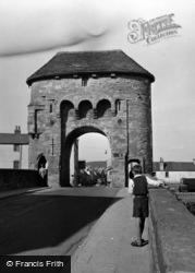 Monmouth, The Monnow Bridge c.1950
