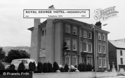 Monmouth, The Royal George Hotel c.1965