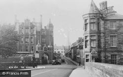 Monmouth, The School c.1955
