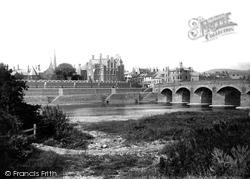 Monmouth, Wye Bridge 1896