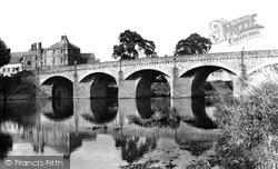 Monmouth, Wye Bridge c.1955