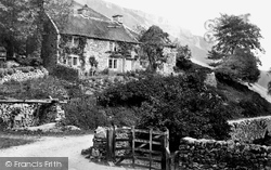 Monsal Dale, Cottage c.1864