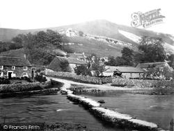 From The Bridge c.1864, Monsal Dale