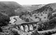 Monsal Dale, the Viaduct c1955