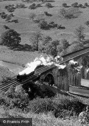 The Viaduct c.1955, Monsal Dale