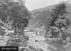 The Waterfall Footbridge 1914, Monsal Dale