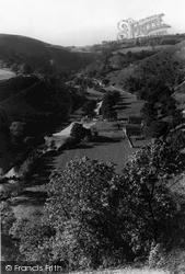 View From Monsal Head c.1955, Monsal Dale