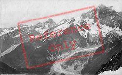 Aiguille Du Dru From Plain Praz c.1874, Mont Blanc