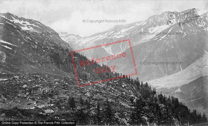 Photo of Mont Blanc, Col De Balme c.1874
