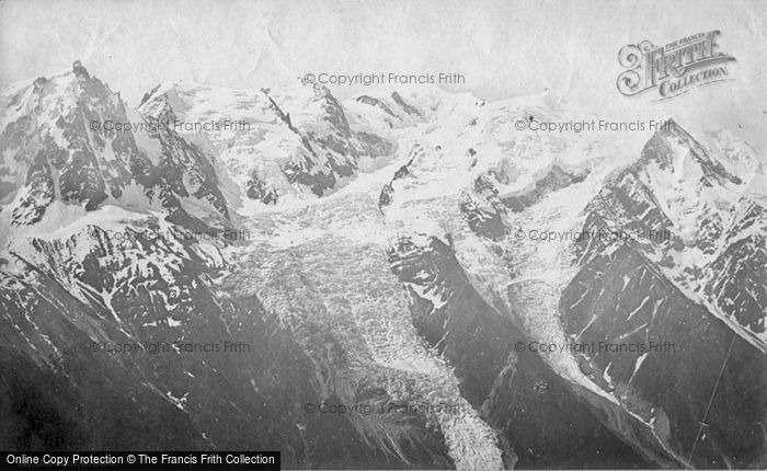 Photo of Mont Blanc, From Brevent c.1874