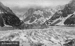 Mer De Glace c.1874, Mont Blanc