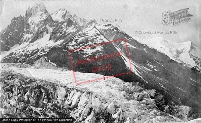 Photo of Mont Blanc, View From Le Mauvais Par c.1874