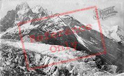 View From Le Mauvais Par c.1874, Mont Blanc