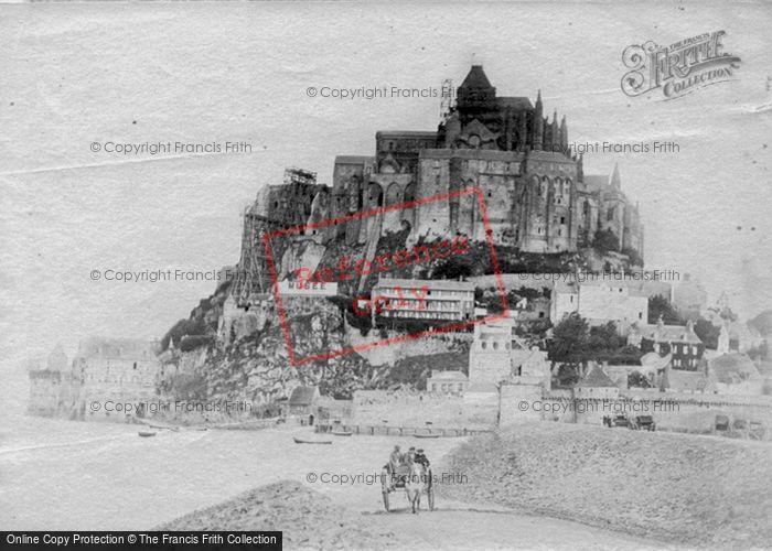 Photo of Mont Saint Michel, c.1890