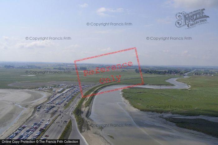 Photo of Mont Saint Michel, Couesnon River And Car Park 2008