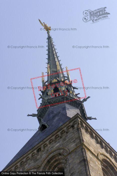 Photo of Mont Saint Michel, Spire 2008
