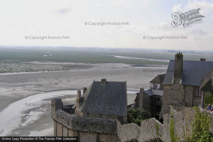 Photo of Mont Saint Michel, View From The Castle 2008