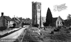 Church Of St Catherine And Gatehouse c.1960, Montacute