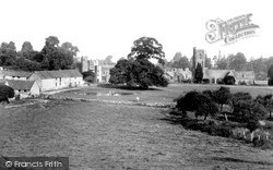 Church Of St Catherine And Priory Gatehouse c.1960, Montacute