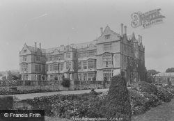 House From Terrace 1900, Montacute