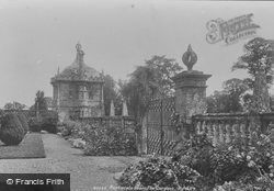 House, In The Gardens 1900, Montacute