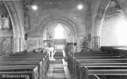 The Church Interior c.1960, Montacute