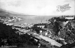 Harbour And Royal Palace c.1873, Monte Carlo