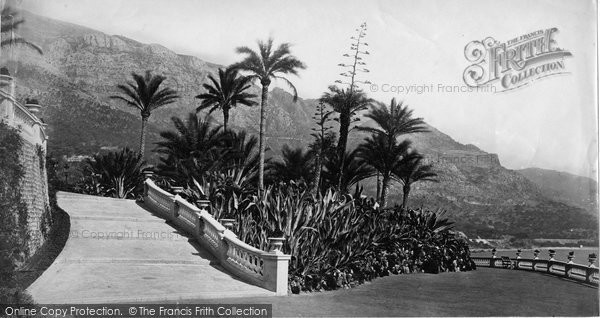 Photo of Monte Carlo, In The Gardens c.1873