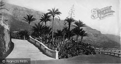 In The Gardens c.1873, Monte Carlo
