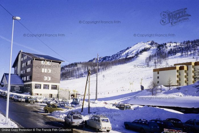 Photo of Montgenèvre, View From Chalet Josy 1981