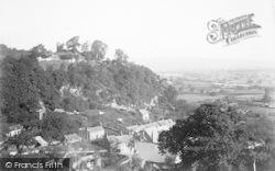 Montgomery, Castle Hill c.1910