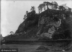 Montgomery, The Castle Ruins c.1935