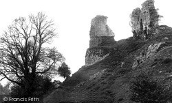 Montgomery, The Castle Ruins c.1939