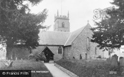 Montgomery, The Church Of St Nicholas c.1960