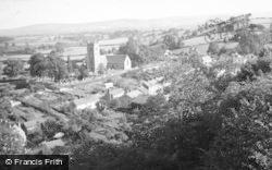 Montgomery, The Town And Church c.1948