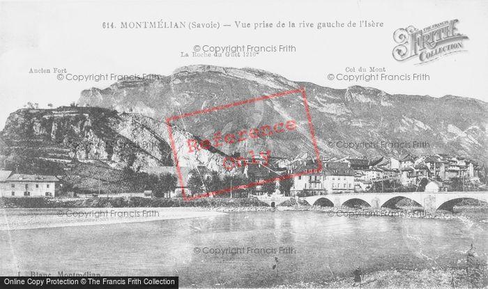 Photo of Montmélian, Vue Prise De La Rive Gauche De L'isère c.1910
